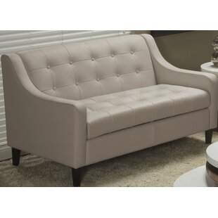 Lind Furniture Cameo Top Grain Leather Love Seat