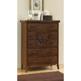 Bay Isle Home Cypress 5 Drawer Chest Image