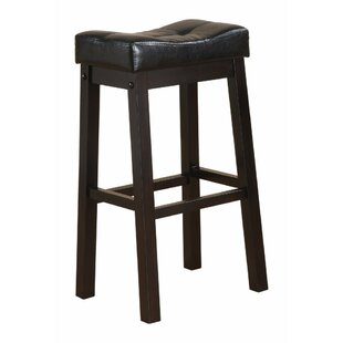 LaGuardia Wooden Sofie Backless 30 Bar Stool (Set of 2) by Winston Porter