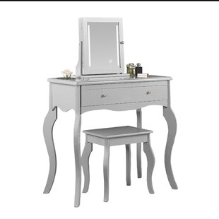 Beckenham Dressing Table With Mirror By August Grove