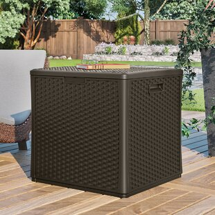 Suncast Cube 60 Gallon Plastic Deck Box