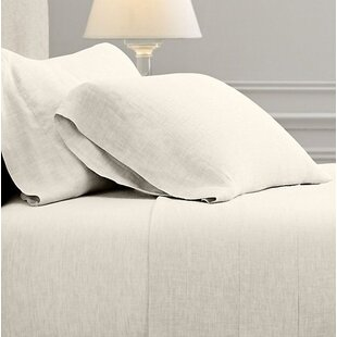 Fleta Vintage Washed Portugal 100% Linen Sheet Set