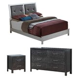 Raye Standard Configurable Bedroom Set by Everly Quinn