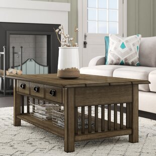 Comparison Garret Coffee Table by Millwood Pines Reviews (2019) & Buyer's Guide