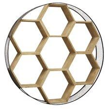 Hexagon Wall Shelf by Brayden Studio