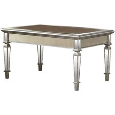 Leighton Mirrored Coffee Table by Birch Lane