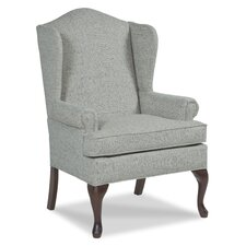 Queene Anne Wingback Chair by Fairfield Chair