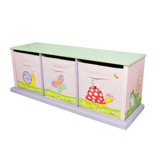 Reviews Magic Garden Portable 3 Compartment Cubby By Fantasy Fields