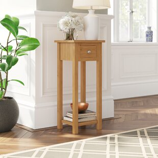 Hatcher Pedestal Telephone Table By Gracie Oaks