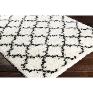 Reviews Boyce Neutral/Black Area Rug By Wrought Studio