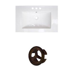 Roxy Ceramic 24 Single Bathroom Vanity Top by American Imaginations