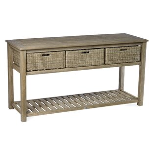 Earnest Solid Wood Buffet & Console Table by Rosecliff Heights