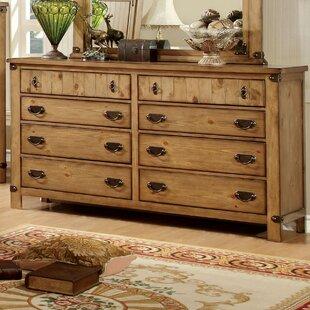 Hokku Designs Torrino 8 Drawer Double Dresser