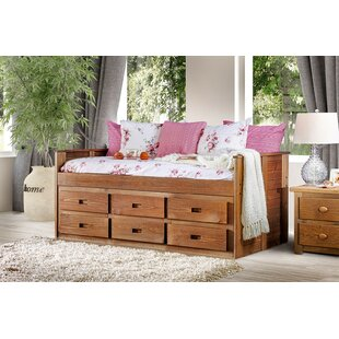Salamone Twin Mate's Bed with Drawer by Harriet Bee