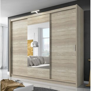 Ornom 3 Door Sliding Wardrobe By Selsey Living