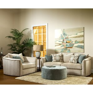 Brooke 3 Piece Living Room Set by Sage Avenue