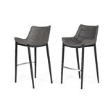 Mishka 30 Bar Stool (Set of 2) by Brayden Studio®
