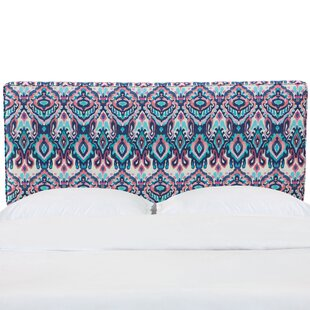 Alley California King Upholstered Panel Headboard by Bungalow Rose