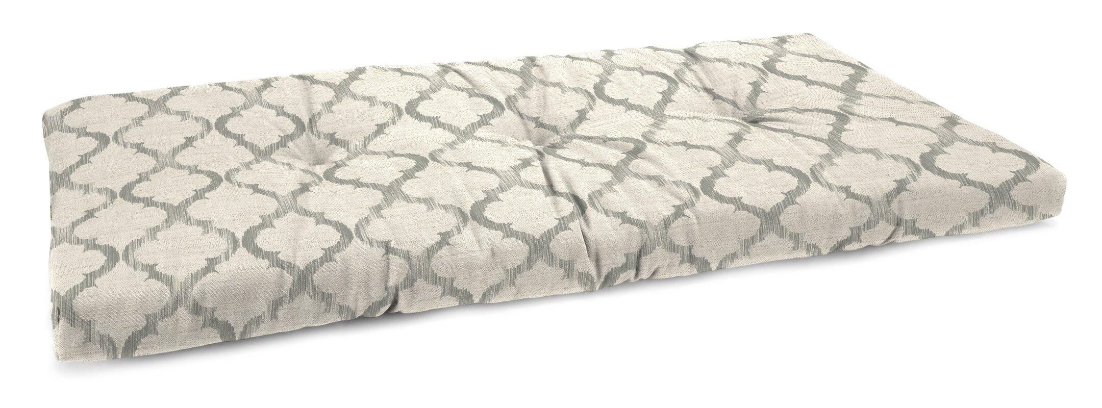 Laurel Foundry Modern Farmhouse Tufted Linen Indoor Bench Cushion ...