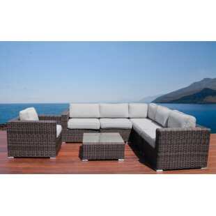 Whitmer 7 Piece Sectional Set with Cushions