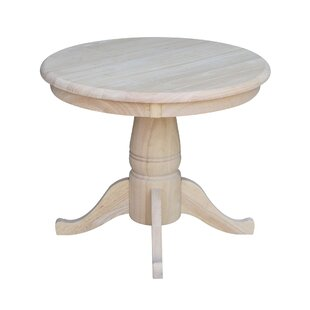 02faec6a0edf Pedestal End Table. by International Concepts