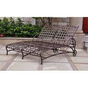 Schilling Double Patio Chaise Lounge by Alcott Hill