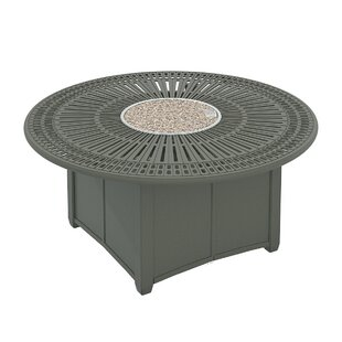 Tropitone Spectrum Aluminum Fire Pit Table