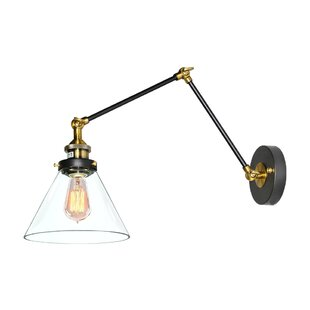 Affordable 1- Light Swing Arm Lamp By LNC Home