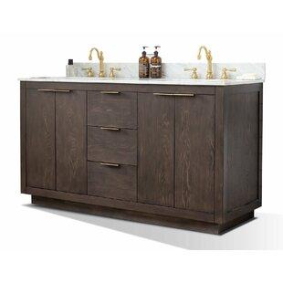 Calahan 60 Double Bathroom Vanity Set by Wrought Studio