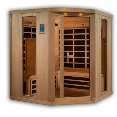 Full Spectrum 5 Person FAR Infrared Sauna Golden Designs