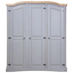 Bartsch 3 Door Wardrobe By Brambly Cottage