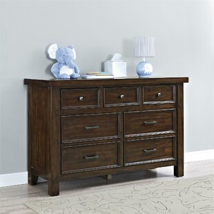 Affordable Timber Lake 7 Drawer Dresser By Bertini