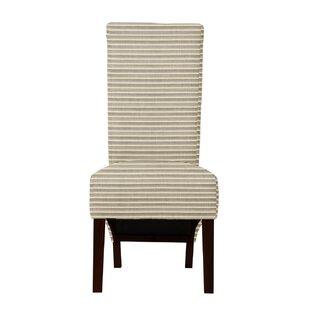 Langley Street Ramon Horizontal Stripe Parsons Chair (Set of 2)