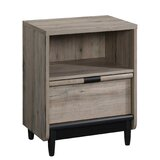 Ains Linden 1 Drawer Nightstand by Union Rustic