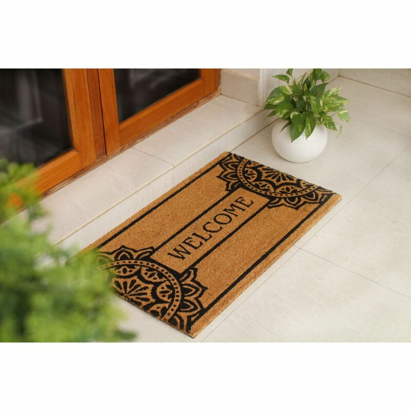 Led Zeppelin Art Handmade Eco-friendly Anti-slip Doormat Rubber Home Decor Indoor Outdoor Entrance