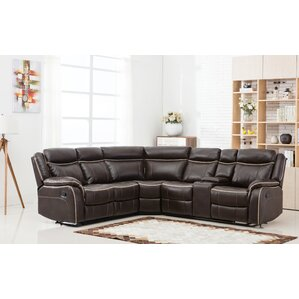 Classic Reclining Sectional by Madison Home USA