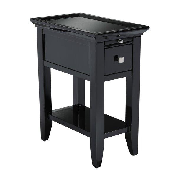 Darby Home Co Owego Granite Top End Table U0026 Reviews | Wayfair