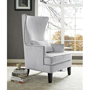 Gabby Wingback Chair by Canora Grey