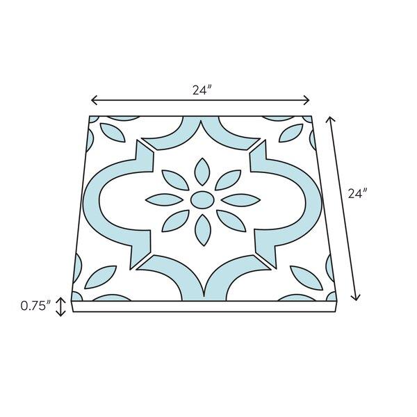 Stone Tile Shoppe Inc Thassos White Extra Polished24x24 Marble Field Tile Wayfair