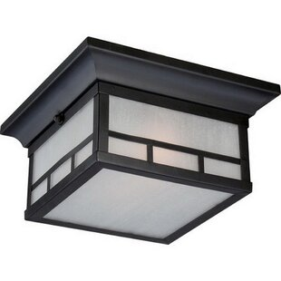 Leta 2-Light Outdoor Flush Mount