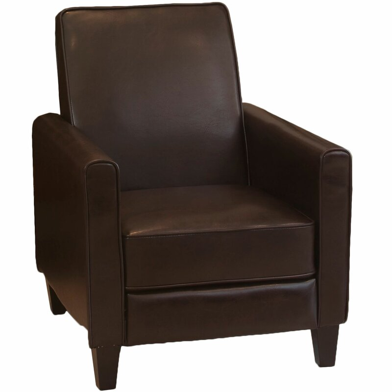 Lana Faux Leather Manual Recliner