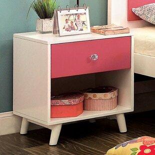 Auburn 1 Drawer Nightstand by Harriet Bee