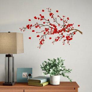 8afd7cc4e4a3 Nature & Flower Wall Decals You'll Love   Wayfair