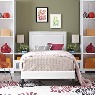 Huntsman Upholstered Platform Bed by Mercer41 Best Design