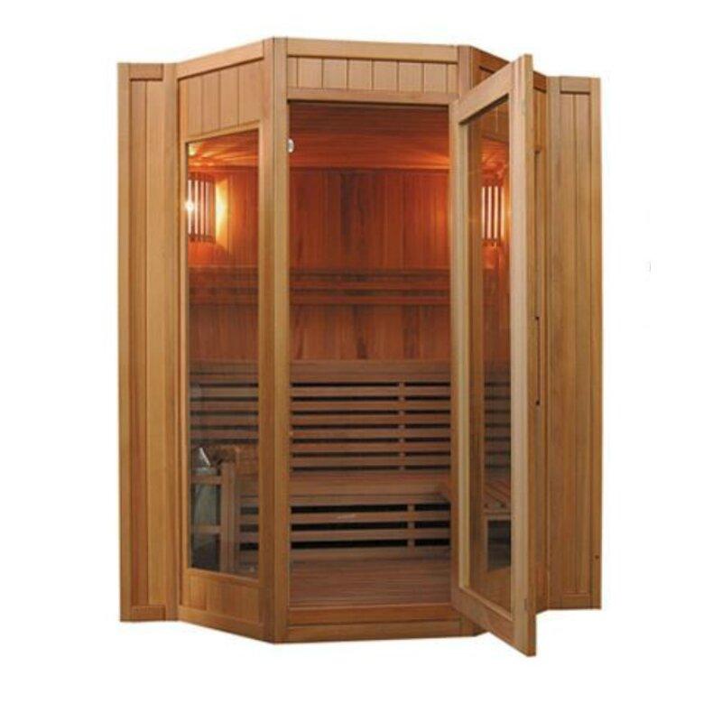 Tiburon 4 Person Traditional Steam Sauna