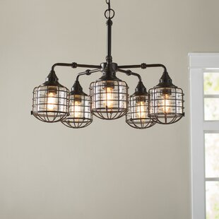 Birch Lane™ Gaskell 5-Light Shaded Chandelier