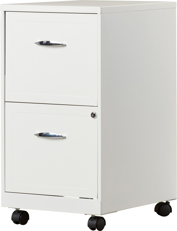 Zipcode Design Gigi 2 Drawer Mobile Filing Cabinet U0026 Reviews | Wayfair