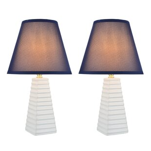 All Saints Transitional Ceramic 18.5 Table Lamp (Set of 2)