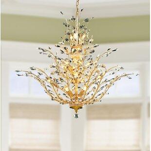 Rosdorf Park Safiya 18-Light Candle Style Chandelier