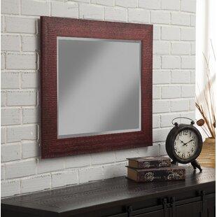 Gillett Rustic Wall Mirror byGracie Oaks